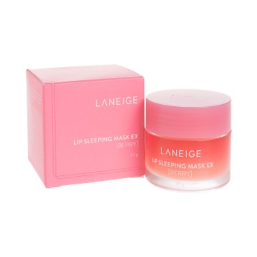 LANEIGE 水潤修護睡眠唇膜 (莓味) 20G