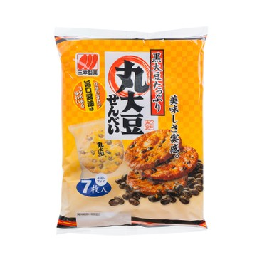 SANKO 三幸 - 米餅-丸大黑豆 - 7'S