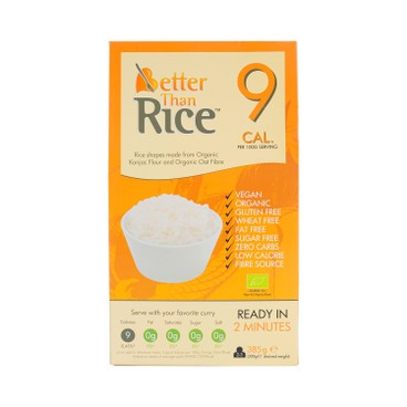 Better than foods - Organic Slim Konjac Rice - 385G