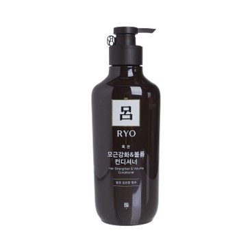 RYO (PARALLEL IMPORTED) - Hair Strengthen & Volume Nourishing Conditioner (Brown) - 550ML