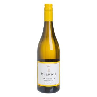 "WARWICK - WHITE WINE - ""The First Lady"" Unoaked Chardonnay - 750ML"