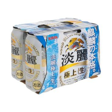 KIRIN - Tanrei Gokujo Draft - 350MLX6