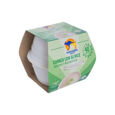 袋鼠牌 - 即食飯-低升糖指數飯 (2盒裝) - 125GX2