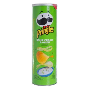 PRINGLES (PARALLEL IMPORT) - PRINGLES SOUR CREAM & ONION - 158G