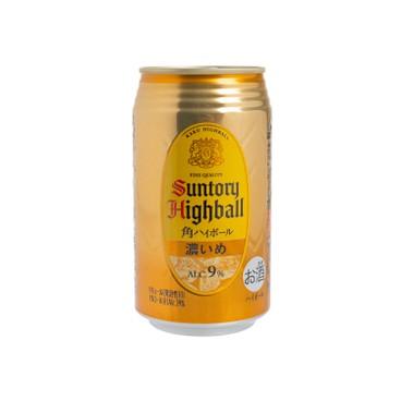 三得利 - 角HIGHBALL <濃> 威士忌酒 - 350ML
