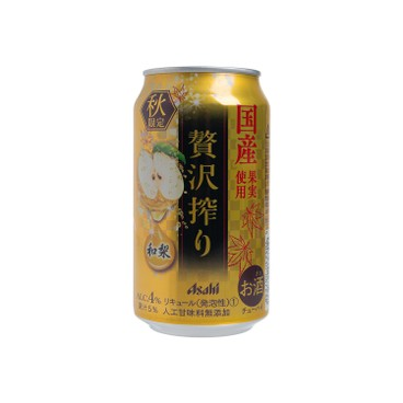 ASAHI朝日 - 贅沢日本梨果汁酒 - 350ML