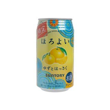 三得利 - 果汁酒 - 柚子+橘子味(期間限定) - 350ML