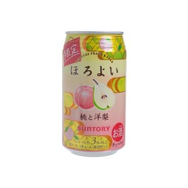 三得利 - 果汁酒 - 桃&洋梨味 (期間限定) - 350ML