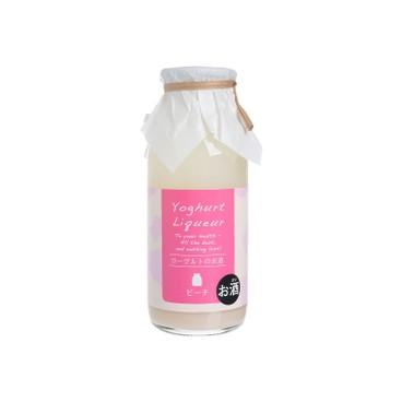 菊水酒造 - 蜜桃味乳酪酒 - 170ML