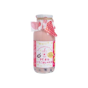菊水酒造 - 珍珠草莓咖啡牛奶酒 - 160ML