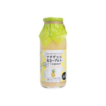 菊水酒造 - 椰果乳酪菠蘿酒 - 160ML