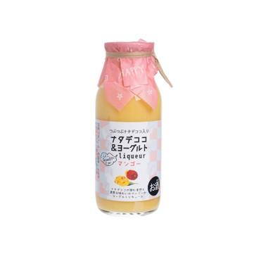 菊水酒造 - 椰果乳酪芒果酒 - 160ML