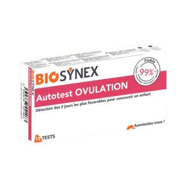 BIOSYNEX - 3 MINUTES OVULATION TEST - 10'S