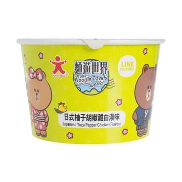 公仔 - 碗麵-日式柚子胡椒雞白湯味 - 72G