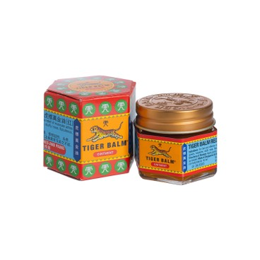 TIGER BALM - RED OINTMENT - 19.4G