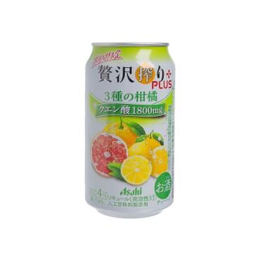 ASAHI - FRUIT BEER-3 mixed flaor - 350ML