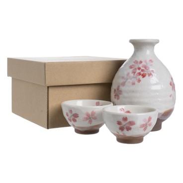 AWASAKA - 万葉庵 美濃燒陶瓷清酒套裝 - SET