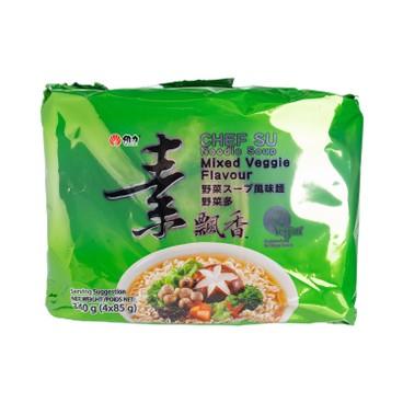 WEI LIH - Vega Flavor Instant Noodle - 85GX4