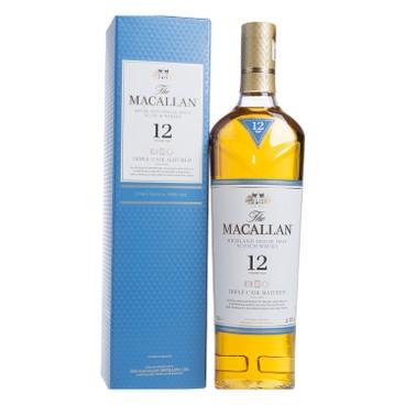 MACALLAN 麥卡倫 - 蘇格蘭威士忌-12年 (三桶單一麥芽) - 70CL