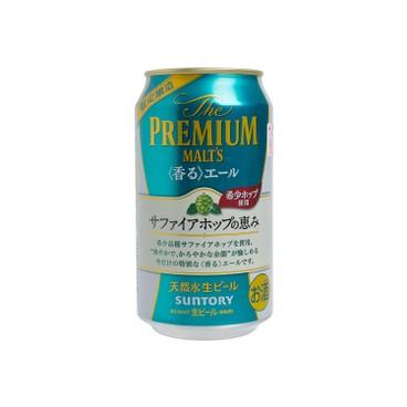 三得利啤酒 - 高級麥芽 - 啤酒 - 350ML