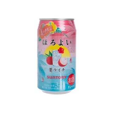 三得利 - 果汁酒-荔枝(夏之限定) - 350ML