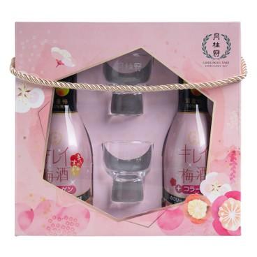 月桂冠 - 禮盒-美人梅酒(雙支裝) - SET