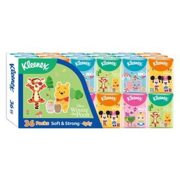 健力氏 - 迪士尼世界紙手巾 - 36'S