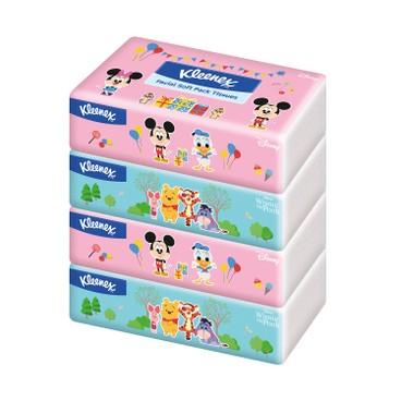 健力氏 - 迪士尼世界軟包面紙 - 4'S