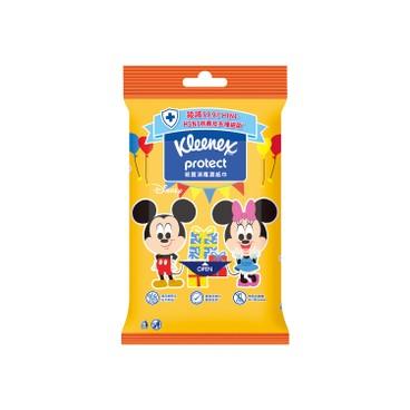 KLEENEX - Disney LittleWorld Hand Sanitizing Wipes (Pattern Random delivery) - 10PCS