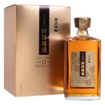 萬歳楽 - 加賀梅酒 12年熟成 木箱入 - 750ML