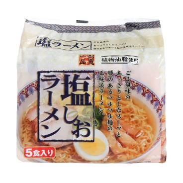 創意一品 - 鹽味湯拉麵 (5包裝) - 89GX5