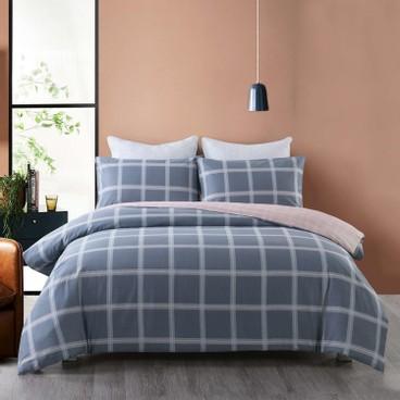 CASABLANCA卡撒天嬌 - 純棉印花系列床品套裝 - 4呎半雙人 - PC