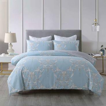 CASABLANCA卡撒天嬌 - 純棉印花系列床品套裝 - 雙人 - PC