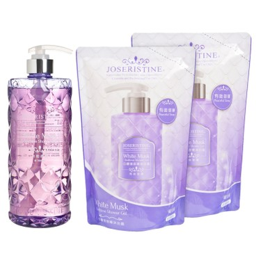 JOSERISTINE BY CHOI FUNG HONG - White Musk Bedtime Shower Gel 1 2 Bundle - SET