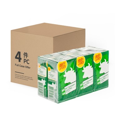 VITA 維他 - 高鈣低脂牛奶-原箱 - 250MLX6X4