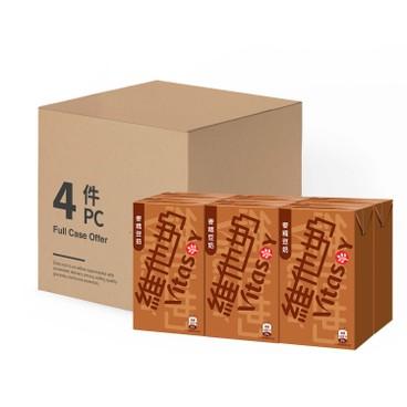 VITASOY 維他奶 - 麥精豆奶-原箱 - 250MLX6X4