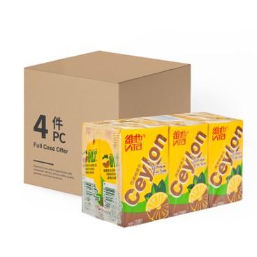 VITA 維他 - 錫蘭檸檬茶-原箱 - 250MLX6X4
