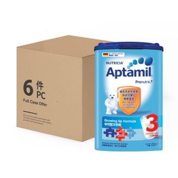 APTAMIL PRONUTRA - 幼兒配方奶粉3段-原箱 - 800GX6