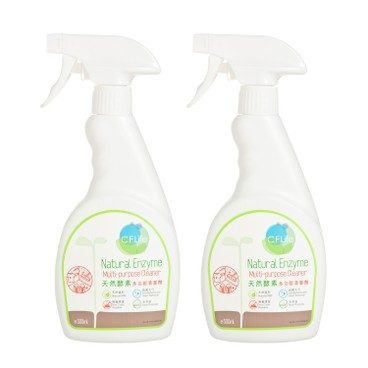 CF LIFE BY CHOI FUNG HONG - Natural Enzyme Multi purpose Cleaner Twin Set - SET