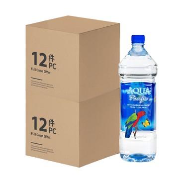 AQUA PACIFIC 太平洋水 - 天然礦泉水-2箱 - 1.5LX12X2