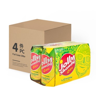 JOLLY SHANDY - Can lemon - 330MLX6X4