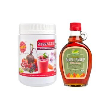 士多滋味 - 套裝-楓糖超級抗氧美肌紅粉 - SET
