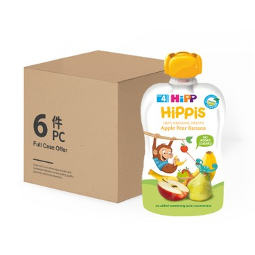 HIPP - Organic Apple Pear Banana case Offer - 100GX6