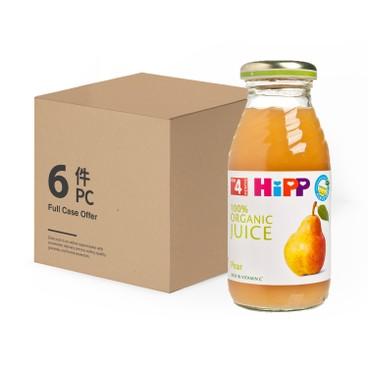 HIPP - Organic Pear Juice Bundle - 200MLX6