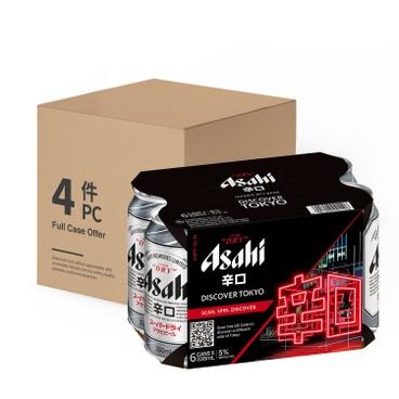 ASAHI - Japanese Beer Can - 350MLX6X4