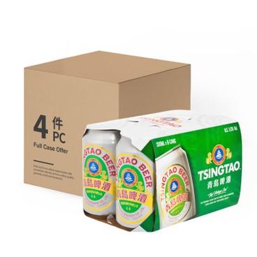 青島 - 啤酒-原箱 - 330MLX6X4