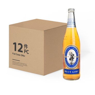 藍妹 - 啤酒 (大樽裝)-原箱 - 640MLX12