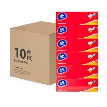 維達 - SMART PLUS盒裝面巾(原箱) - 6'SX10