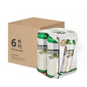SONDERBERG - Beer King Can full Case - 500MLX4X6