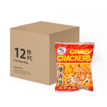 CHUI HIANG - CRAB CRACKERS-CASE OFFER - 40GX12